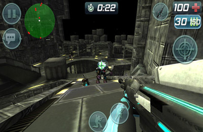 Screenshots vom Spiel Call of Mini: Sniper für iPhone, iPad oder iPod.