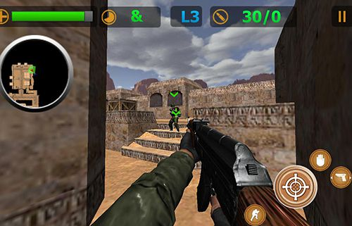 Capturas de pantalla del juego Brothers in Arms 2: Global Front para iPhone, iPad o iPod.