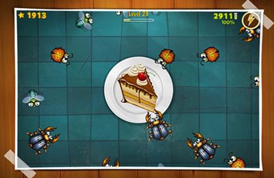 Screenshots of the Critter Quitter game for iPhone, iPad or iPod.