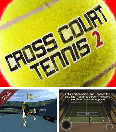In addition to the game Tiny Legends: Heroes for iPhone, iPad or iPod, you can also download Cross Court Tennis 2 for free.