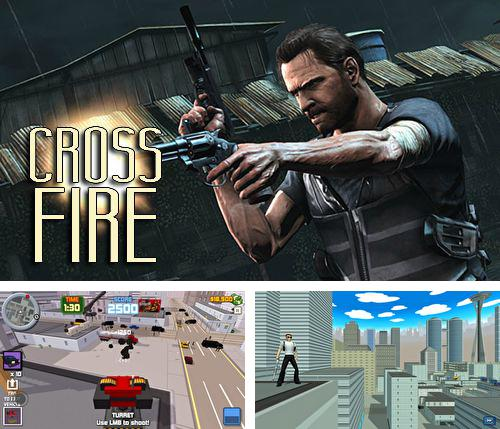 In addition to the game Fish soccer: Shootout for iPhone, iPad or iPod, you can also download Cross fire for free.