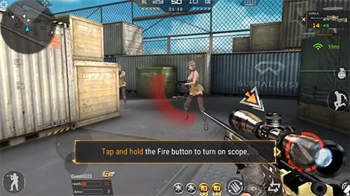 Capturas de pantalla del juego Cross fire: Legends para iPhone, iPad o iPod.