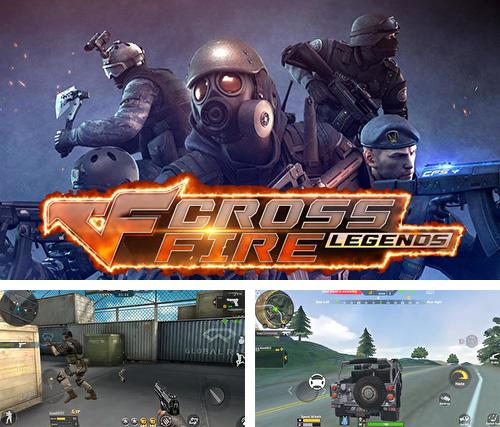 In addition to the game Nitro Racing Highways for iPhone, iPad or iPod, you can also download Cross fire: Legends for free.