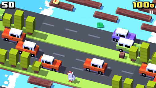 Free Crossy road download for iPhone, iPad and iPod.