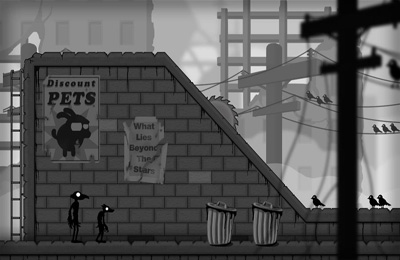 Screenshots of the Crowman and Wolfboy game for iPhone, iPad or iPod.