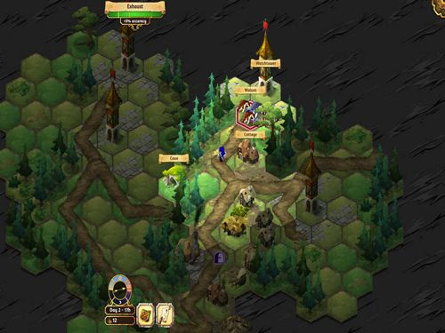 Screenshots of the Crowntakers game for iPhone, iPad or iPod.