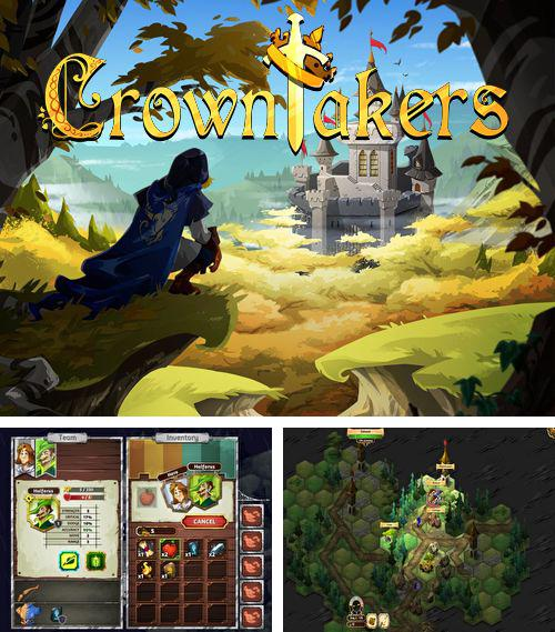 In addition to the game Ride 'Em Rigby - Regular Show for iPhone, iPad or iPod, you can also download Crowntakers for free.