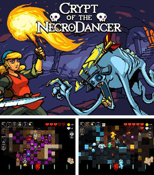 除了 iPhone、iPad 或 iPod 游戏,您还可以免费下载Crypt of the NecroDancer, 。