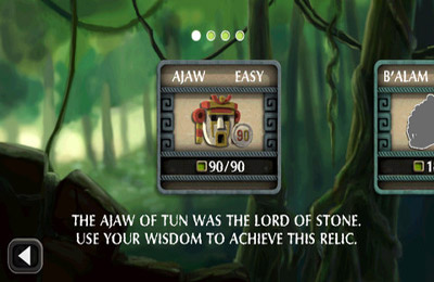 Screenshots of the Cryptica game for iPhone, iPad or iPod.