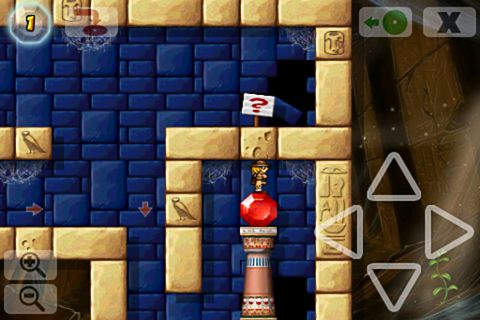 Descarga gratuita de Crystal cave: Classic para iPhone, iPad y iPod.