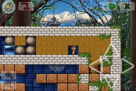 Screenshots of the Crystal cave: Classic game for iPhone, iPad or iPod.