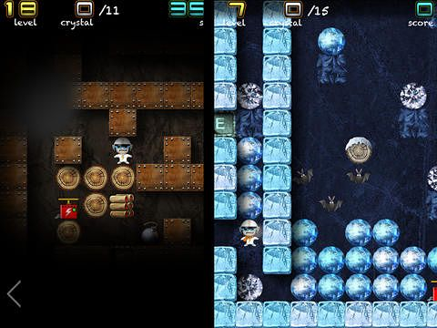Download Crystal mine: Jones in action iPhone free game.