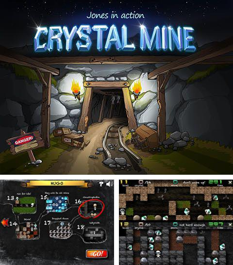 除了 iPhone、iPad 或 iPod 游戏,您还可以免费下载Crystal mine: Jones in action, 。
