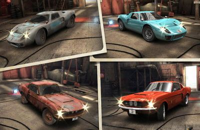 Screenshots of the CSR Classics game for iPhone, iPad or iPod.