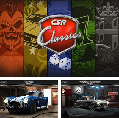 In addition to the game Stickman Soccer for iPhone, iPad or iPod, you can also download CSR Classics for free.