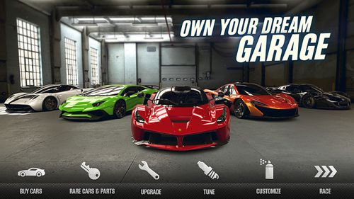 Descarga gratuita de CSR Racing 2 para iPhone, iPad y iPod.