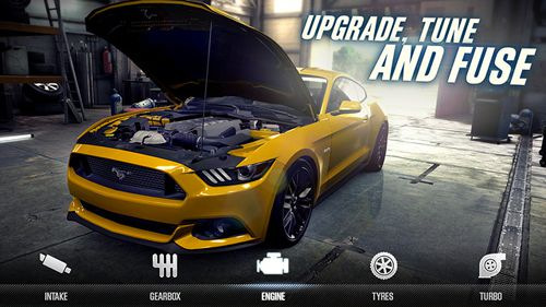 Screenshots of the CSR Racing 2 game for iPhone, iPad or iPod.