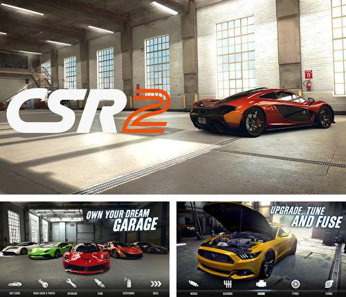 In addition to the game Cooking fever for iPhone, iPad or iPod, you can also download CSR Racing 2 for free.