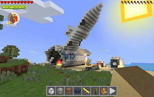 Screenshots do jogo Cube lands para iPhone, iPad ou iPod.
