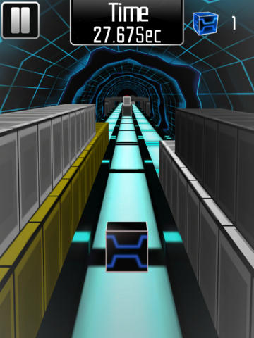Download Cube Runner 3D Pro iPhone free game.