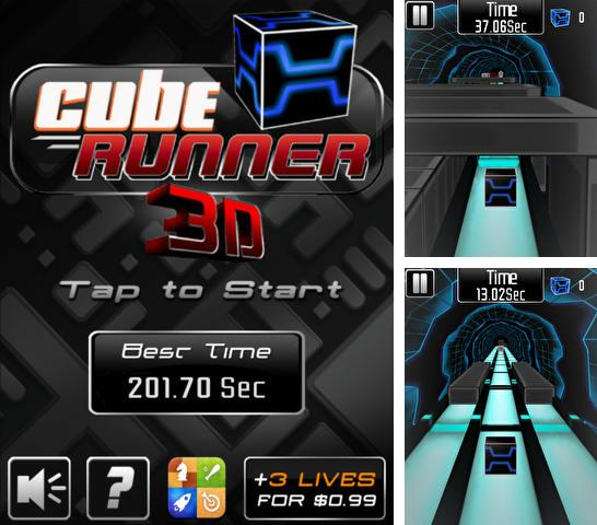 In addition to the game Edo superstar for iPhone, iPad or iPod, you can also download Cube Runner 3D Pro for free.