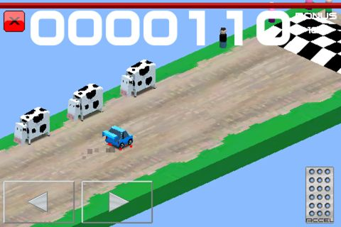 Free Cubed rally racer download for iPhone, iPad and iPod.