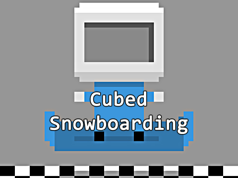 Cubed snowboarding