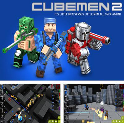 In addition to the game Block iron robot for iPhone, iPad or iPod, you can also download Cubemen 2 for free.
