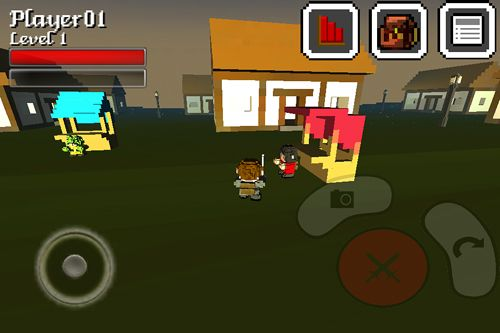 Screenshots of the Cubeventure game for iPhone, iPad or iPod.