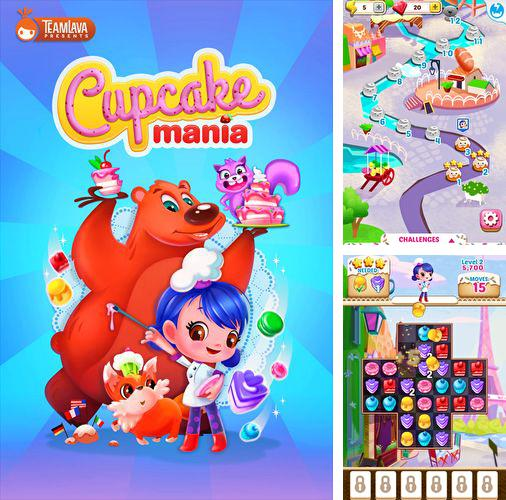 In addition to the game Sonic at the Olympic Winter Games for iPhone, iPad or iPod, you can also download Cupcake mania for free.