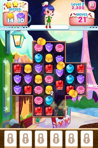 Screenshots of the Cupcake mania: Christmas game for iPhone, iPad or iPod.