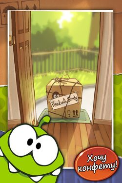 Kostenloses iPhone-Game Cut the Rope herunterladen.