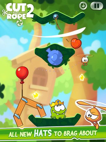 Baixe Cut the Rope 2 gratuitamente para iPhone, iPad e iPod.