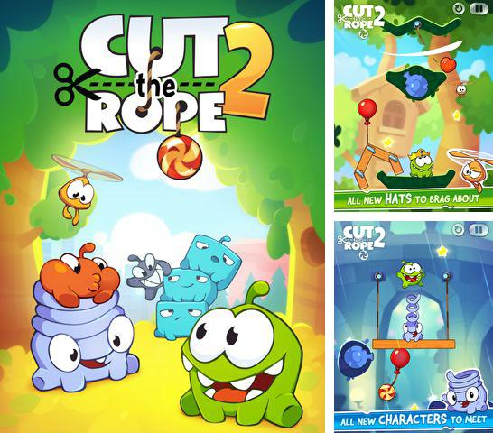 In addition to the game Cubeventure for iPhone, iPad or iPod, you can also download Cut the Rope 2 for free.