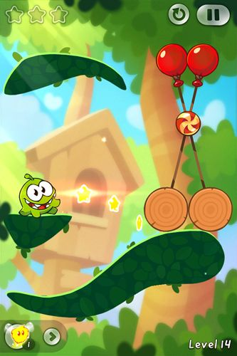 Download Cut the rope 2: Om-Nom's unexpected adventure iPhone free game.