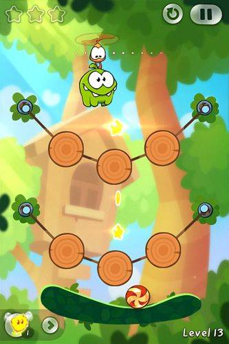Free Cut the rope 2: Om-Nom's unexpected adventure download for iPhone, iPad and iPod.