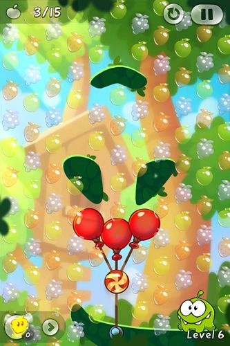 Screenshots of the Cut the rope 2: Om-Nom's unexpected adventure game for iPhone, iPad or iPod.