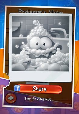 Screenshots vom Spiel Cut the Rope: Experiments für iPhone, iPad oder iPod.