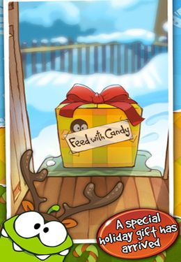 Скачать Cut the Rope Holiday Gift на iPhone бесплатно