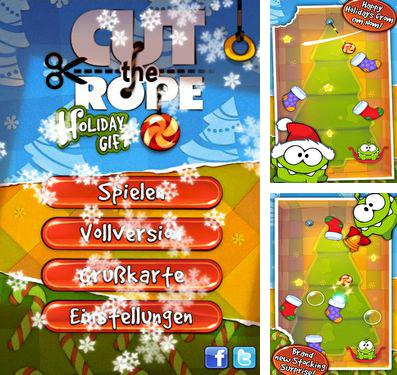 En plus du jeu Souris-bikers du Mars pour iPhone, iPad ou iPod, vous pouvez aussi télécharger gratuitement Coupe la corde: La Surprise de Nouvel An, Cut the Rope Holiday Gift.