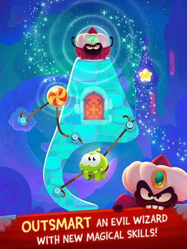 Capturas de pantalla del juego Cut the rope: Magic para iPhone, iPad o iPod.