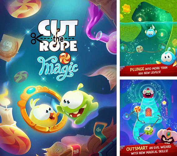 In addition to the game 8-bit farm for iPhone, iPad or iPod, you can also download Cut the rope: Magic for free.