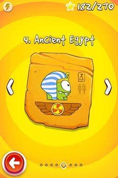 Kostenloses iPhone-Game Cut the Rope: Time Travel herunterladen.