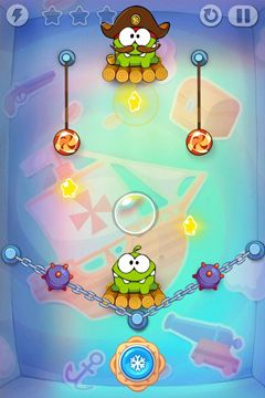 Descarga gratuita de Cut the Rope: Experiments para iPhone, iPad y iPod.