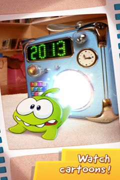 Screenshots of the Cut the Rope: Time Travel game for iPhone, iPad or iPod.