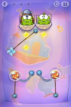 Screenshots vom Spiel Cut the Rope: Time Travel für iPhone, iPad oder iPod.