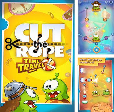 En plus du jeu L'Alliance Dangeureuse pour iPhone, iPad ou iPod, vous pouvez aussi télécharger gratuitement Coupe la corde!Le voyage à travers le temps, Cut the Rope: Time Travel.