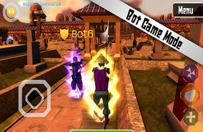 Écrans du jeu Cutting Edge Arena pour iPhone, iPad ou iPod.
