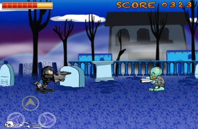 Descarga gratuita de Cyber Zombies Wanted para iPhone, iPad y iPod.