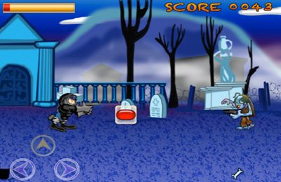 Screenshots vom Spiel Cyber Zombies Wanted für iPhone, iPad oder iPod.
